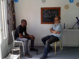 1-Emmanuel Iduma in conversation with Driss Ksikes